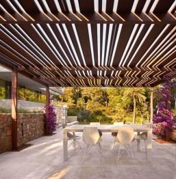 Adorable Outdoor Dining Area Furniture Ideas 12