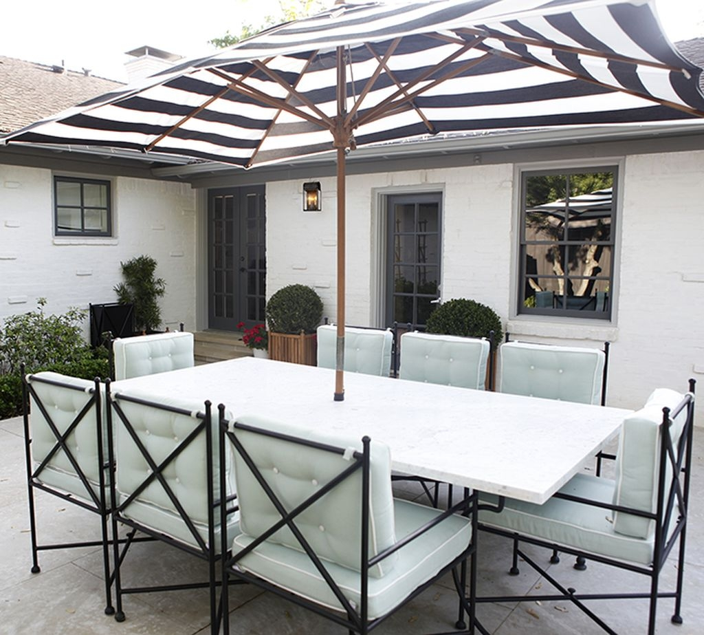 Adorable Outdoor Dining Area Furniture Ideas 21