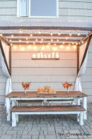 Adorable Outdoor Dining Area Furniture Ideas 32