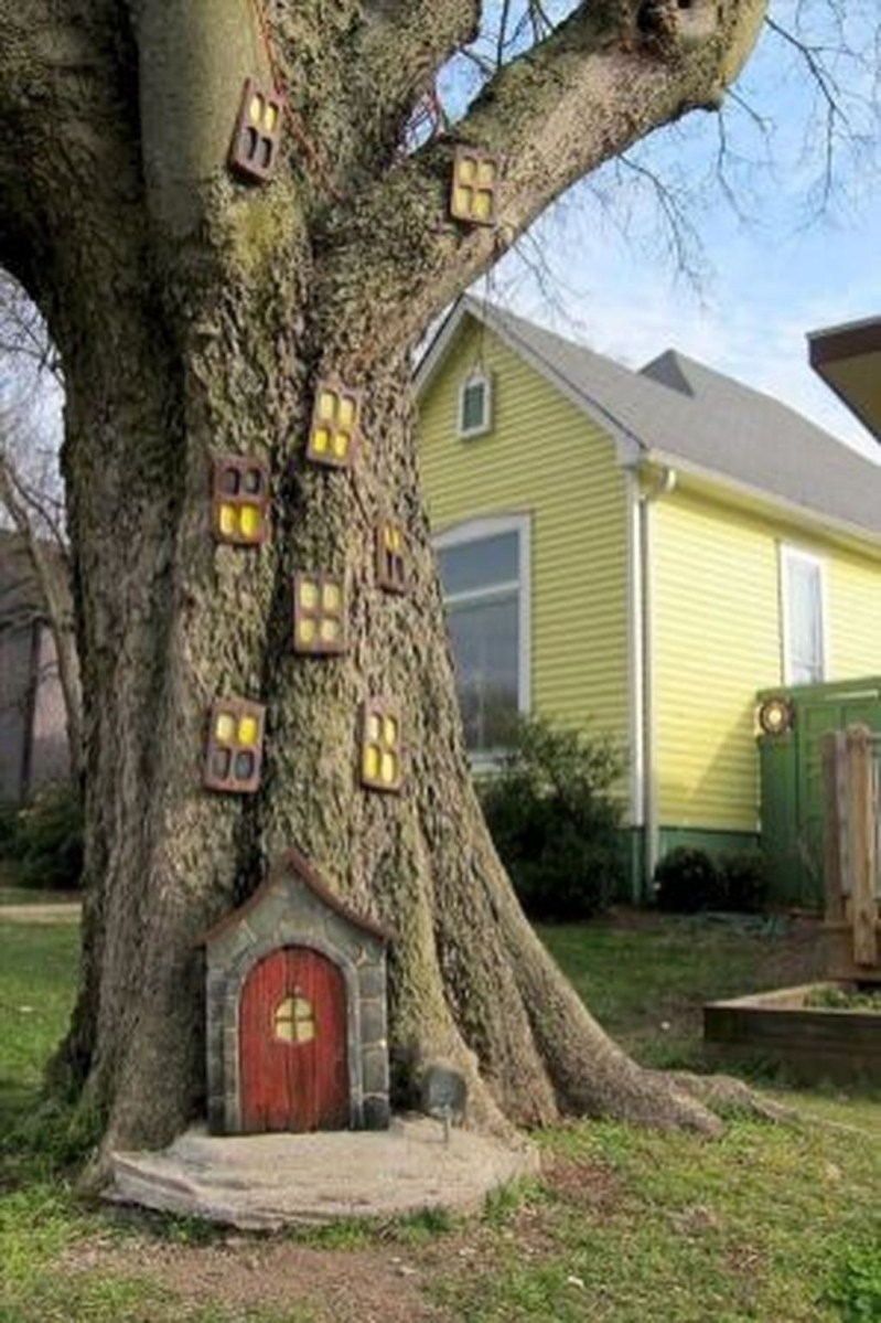 Amazing Backyard Fairy Garden Ideas On A Budget 02
