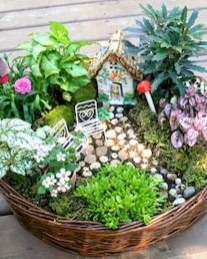 Amazing Backyard Fairy Garden Ideas On A Budget 26