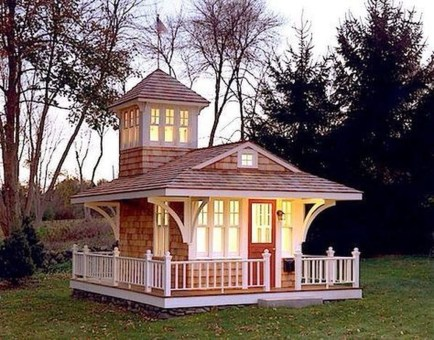 Awesome Outdoor Kids Playhouses That Youll Want To Live Yourself 02