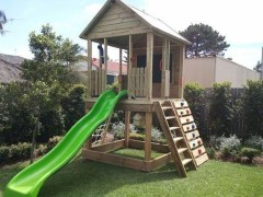 Awesome Outdoor Kids Playhouses That Youll Want To Live Yourself 09