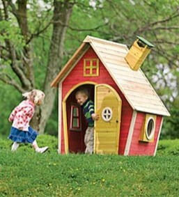 Awesome Outdoor Kids Playhouses That Youll Want To Live Yourself 17