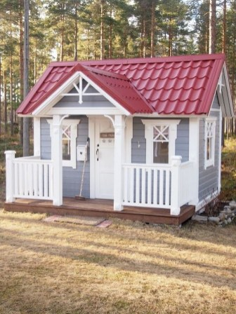 Awesome Outdoor Kids Playhouses That Youll Want To Live Yourself 27