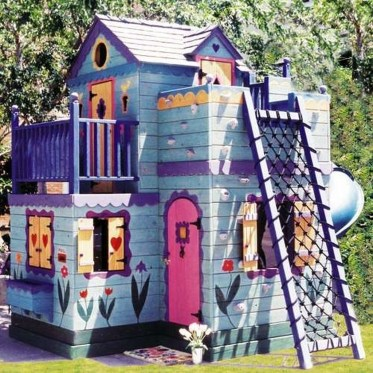 Awesome Outdoor Kids Playhouses That Youll Want To Live Yourself 28