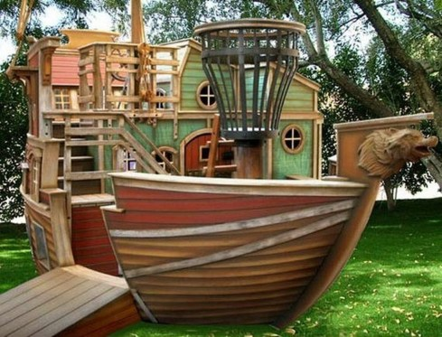 Awesome Outdoor Kids Playhouses That Youll Want To Live Yourself 30