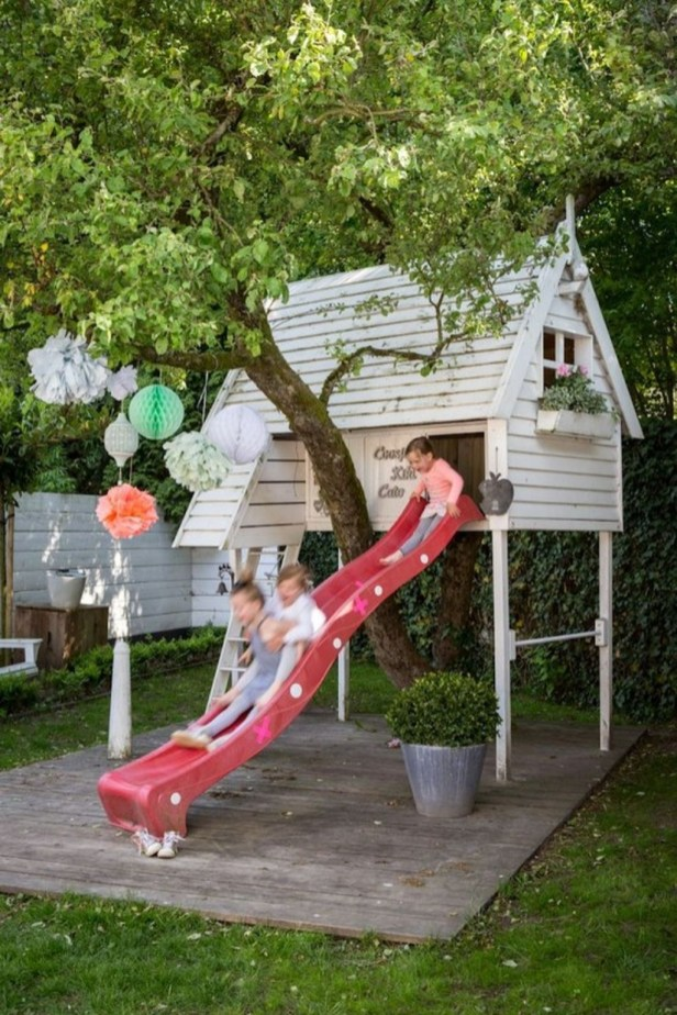 Awesome Outdoor Kids Playhouses That Youll Want To Live Yourself 36
