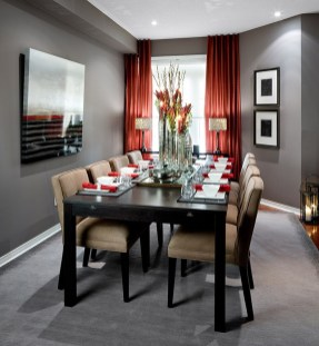 Bright And Colorful Dining Room Design Ideas 09