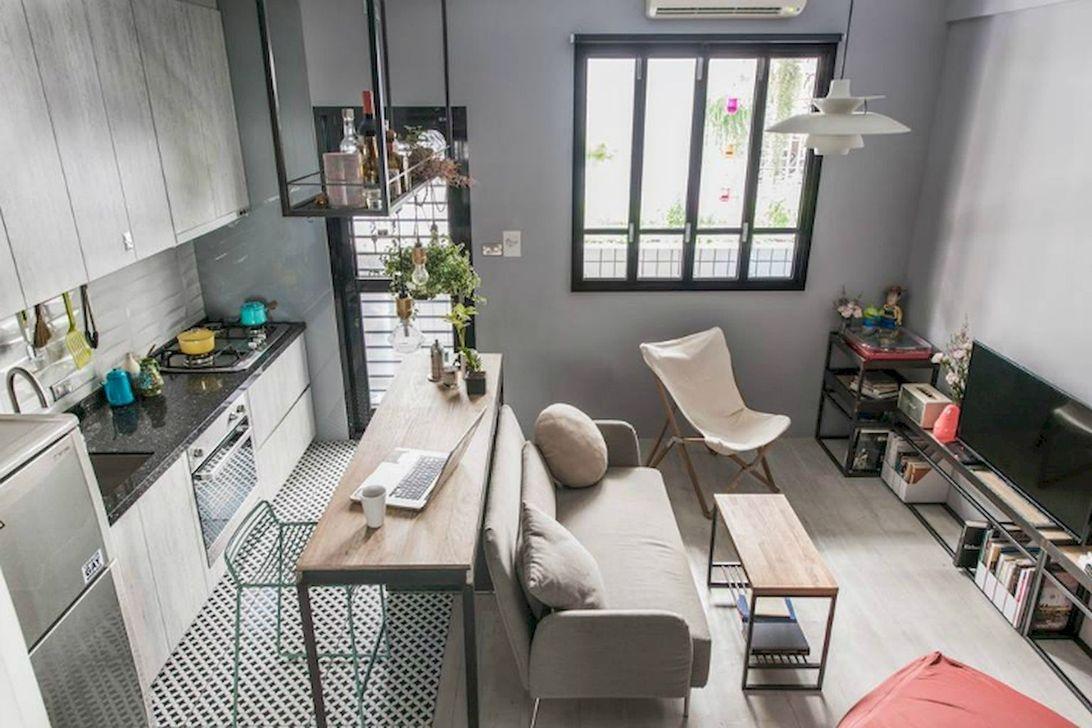 Brilliant Small Apartment Decoration Ideas On A Budget 06