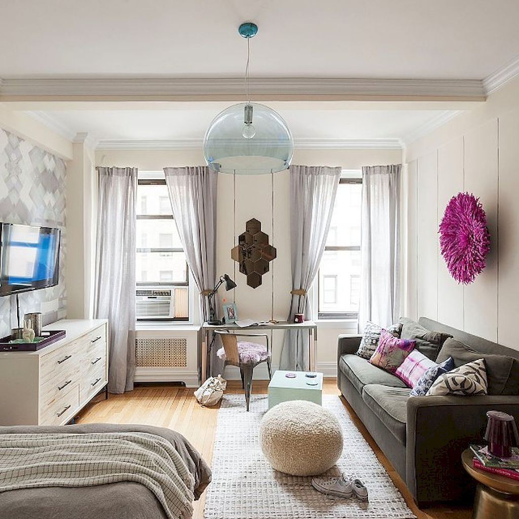 Brilliant Small Apartment Decoration Ideas On A Budget 25