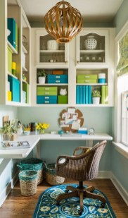 Colorful Home Office Design Ideas You Will Totally Love 01