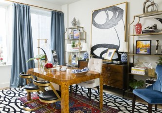 Colorful Home Office Design Ideas You Will Totally Love 10