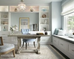 Colorful Home Office Design Ideas You Will Totally Love 12