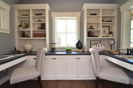 Colorful Home Office Design Ideas You Will Totally Love 21