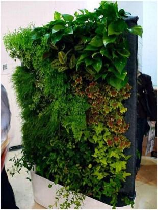 Cool Indoor Vertical Garden Design Ideas 23