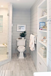 Cool Small Master Bathroom Remodel Ideas 38