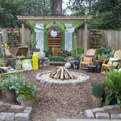 Cozy Backyard Landscaping Ideas On A Budget 41