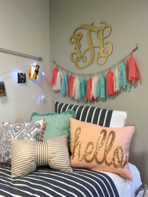 Creative And Cute Diy Dorm Room Decoration Ideas 47