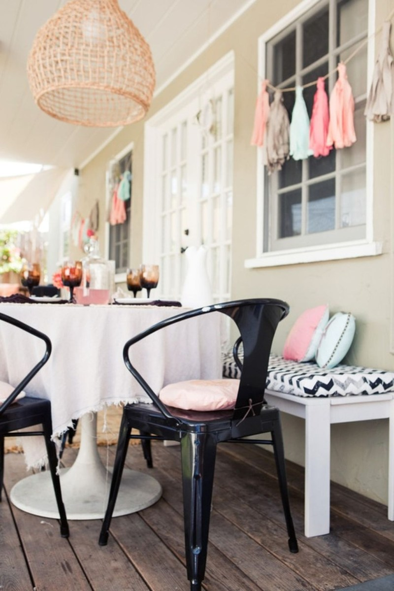 Cute And Cool Pastel Patio Design Ideas23