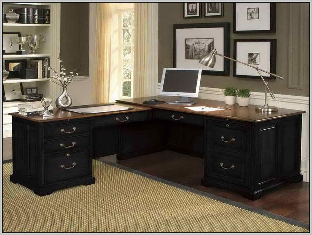 Futuristic L Shaped Desk Design Ideas 08