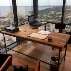Futuristic L Shaped Desk Design Ideas 14