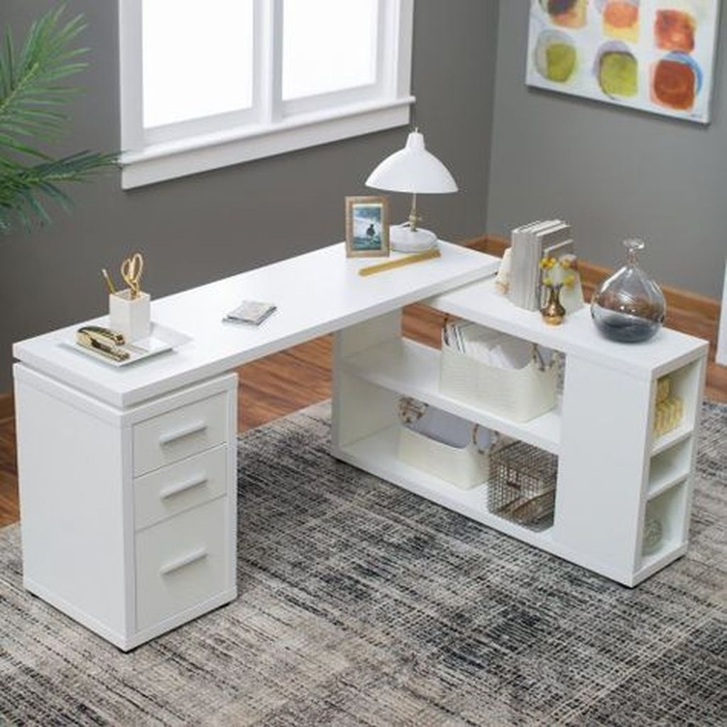 Futuristic L Shaped Desk Design Ideas 15