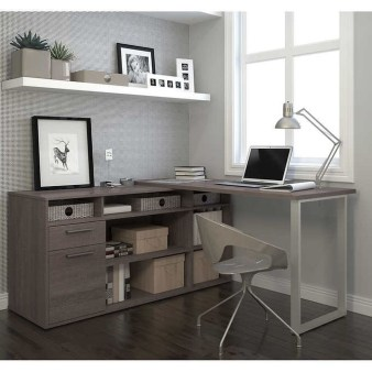 Futuristic L Shaped Desk Design Ideas 30