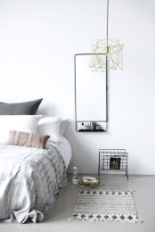 Modern And Stylish Scandinavian Bedroom Decoration Ideas 03