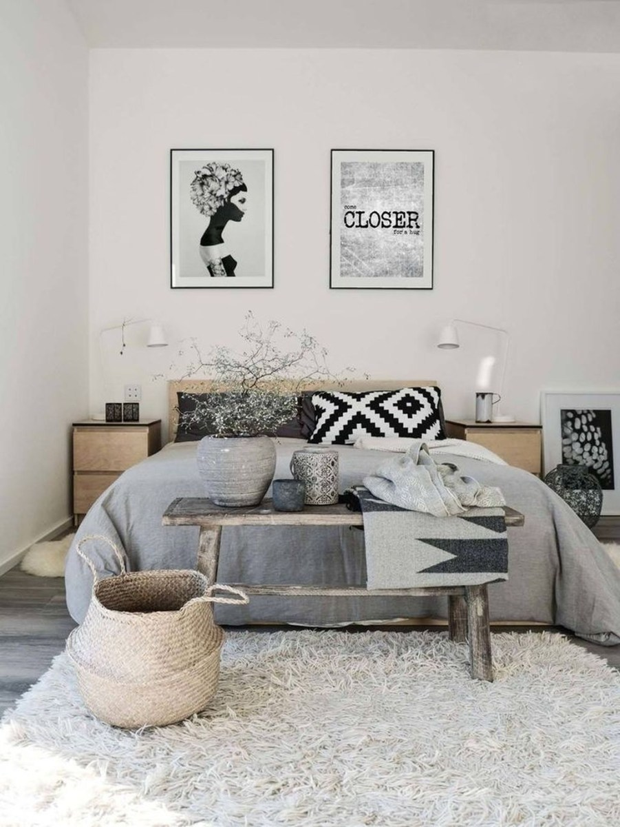Modern And Stylish Scandinavian Bedroom Decoration Ideas 24