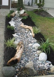Relaxing Japanese Inspired Front Yard Decoration Ideas 08