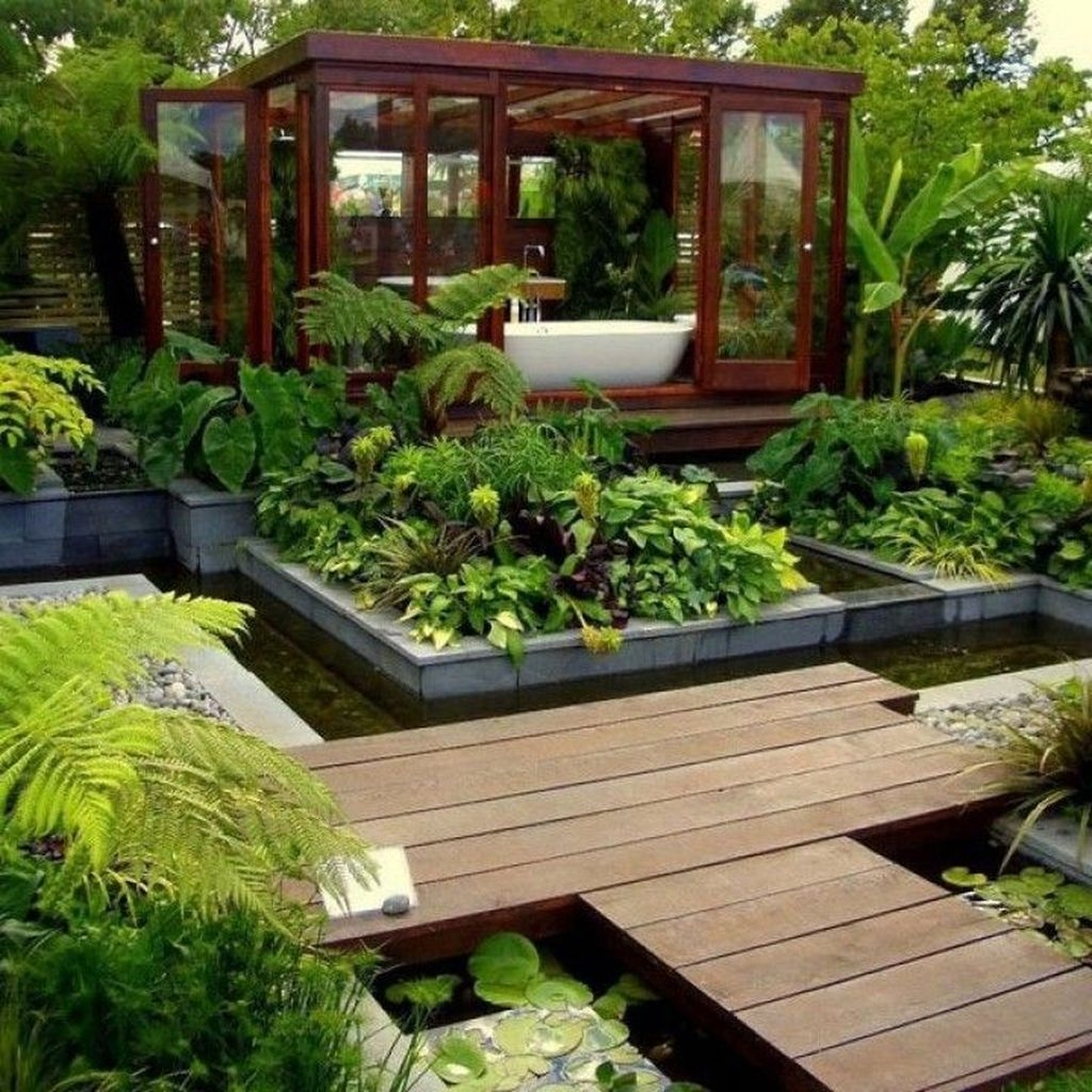 Relaxing Japanese Inspired Front Yard Decoration Ideas 35