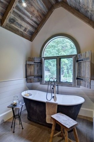 Simple And Cozy Wooden Bathroom Remodel Ideas 13