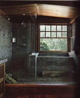 Simple And Cozy Wooden Bathroom Remodel Ideas 14