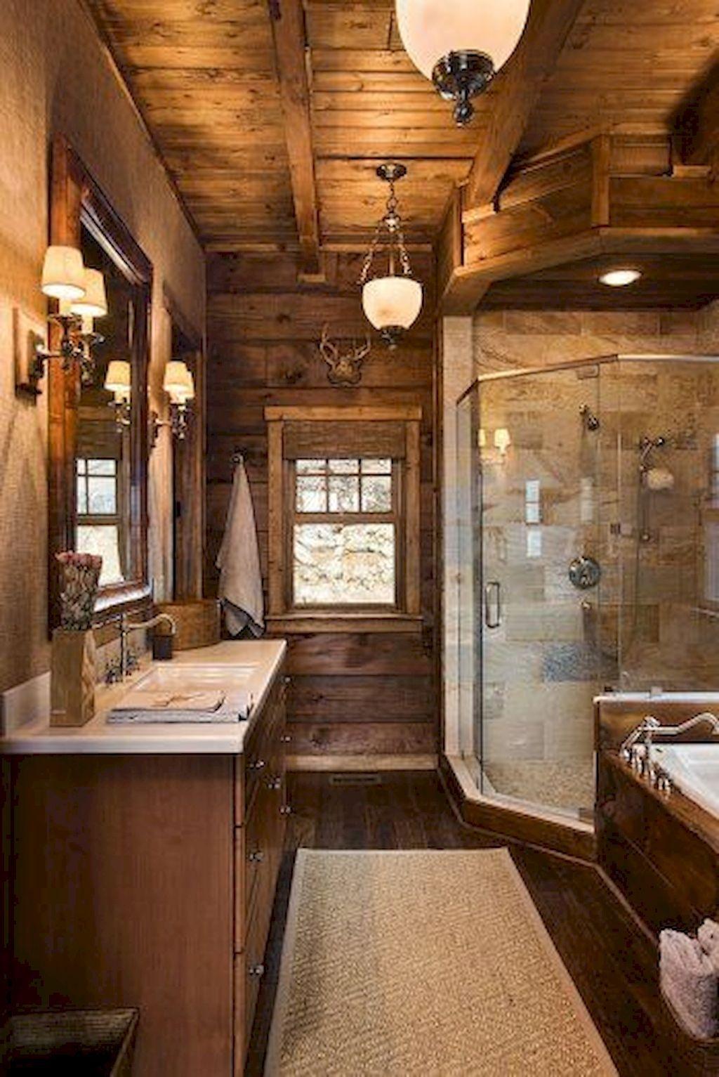 Simple And Cozy Wooden Bathroom Remodel Ideas 16