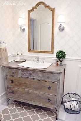 Simple And Cozy Wooden Bathroom Remodel Ideas 37
