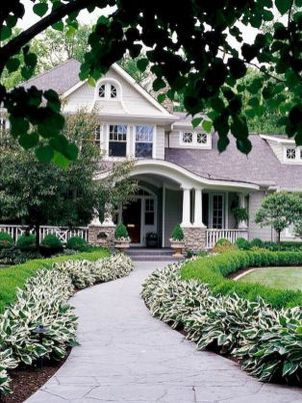 Totally Beautiful Front Yard Landscaping Ideas On A Budget 42