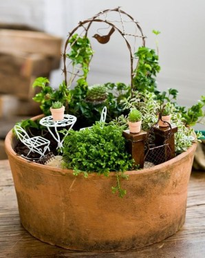 Totally Cool Magical Diy Fairy Garden Ideas 41