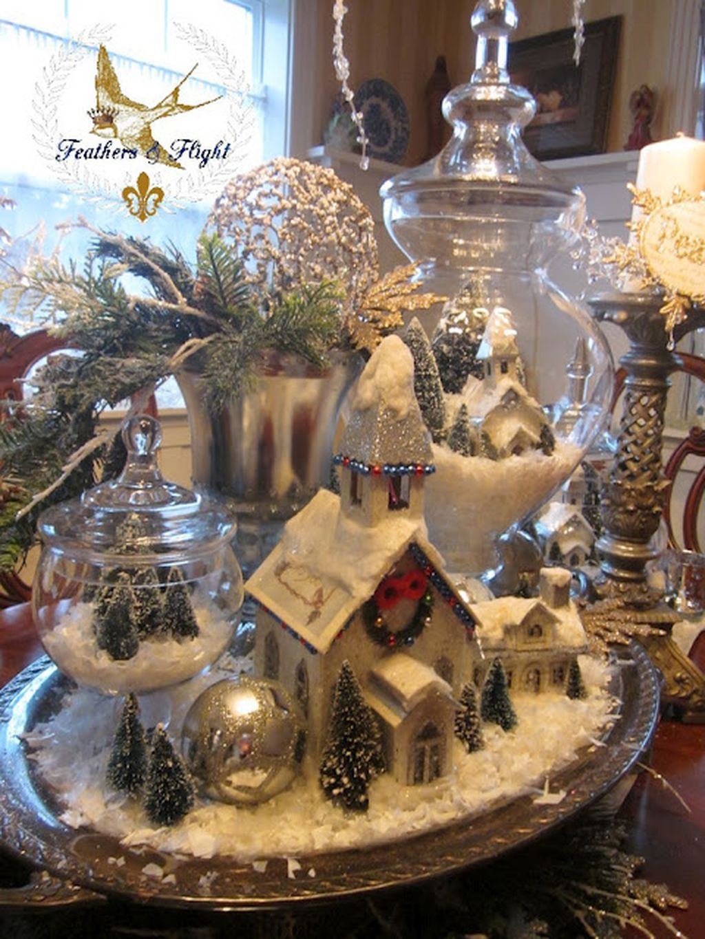 Vintage Christmas Decor Ideas For This Winter 27
