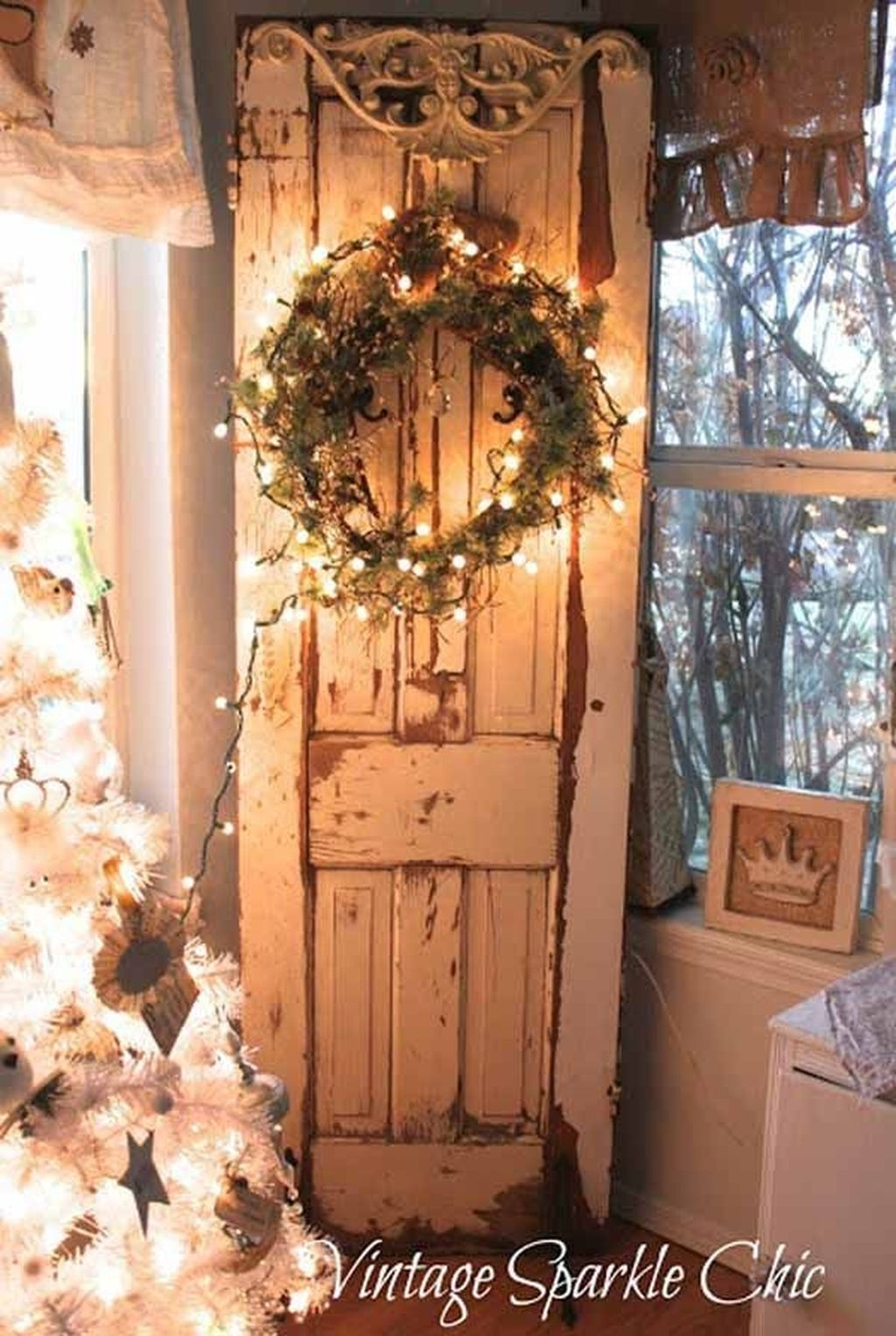 Vintage Christmas Decor Ideas For This Winter 32