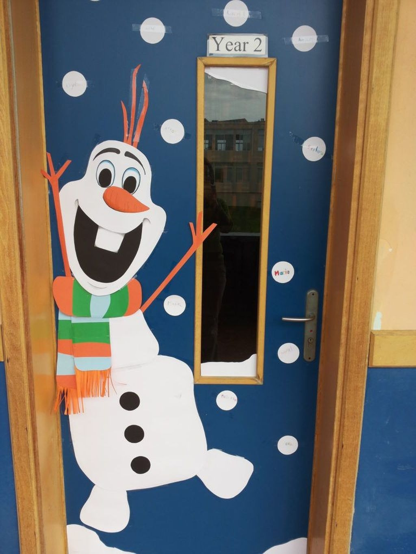Adorable Winter Classroom Door Decoration Ideas 17