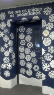 Adorable Winter Classroom Door Decoration Ideas 32