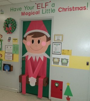 Adorable Winter Classroom Door Decoration Ideas 39