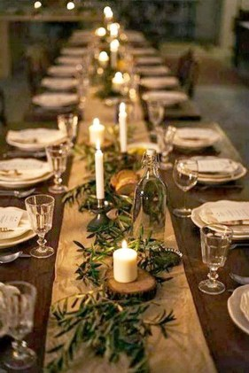 Amazing Winter Table Decoration Ideas 09