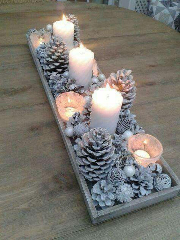 Amazing Winter Table Decoration Ideas 17