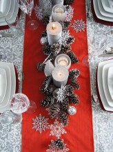 Amazing Winter Table Decoration Ideas 18