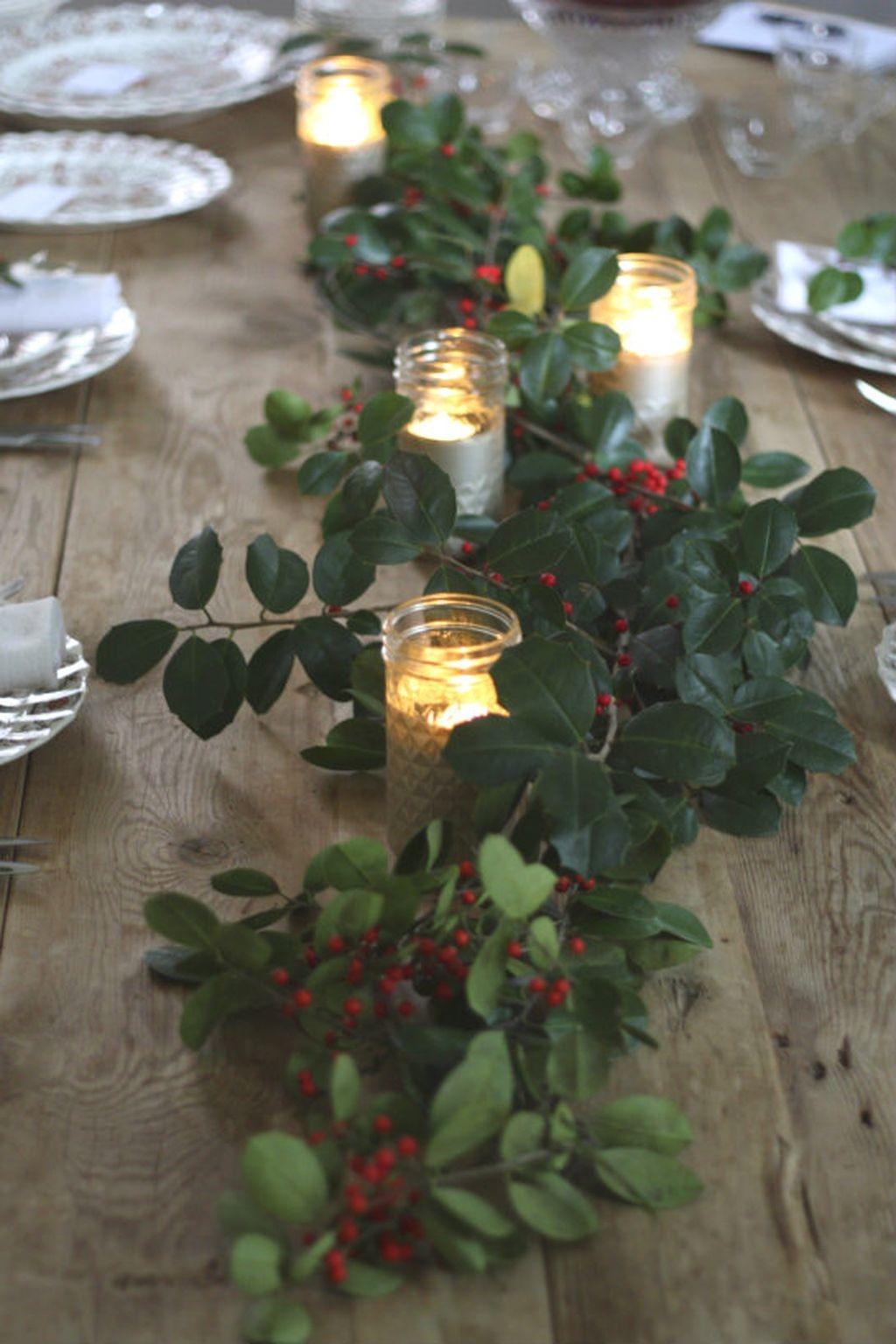 Amazing Winter Table Decoration Ideas 28