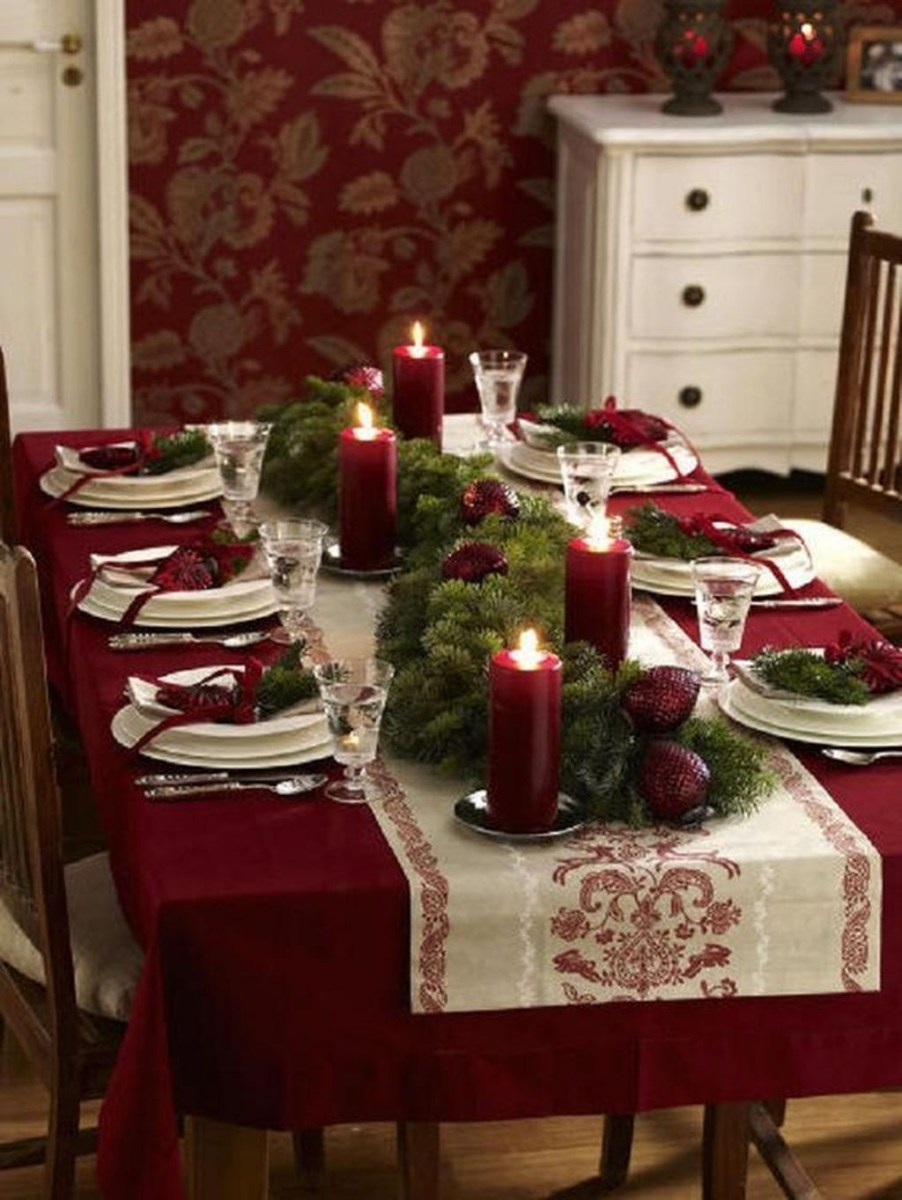 Amazing Winter Table Decoration Ideas 44