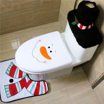 Awesome Winter Themed Bathroom Decoration Ideas 08