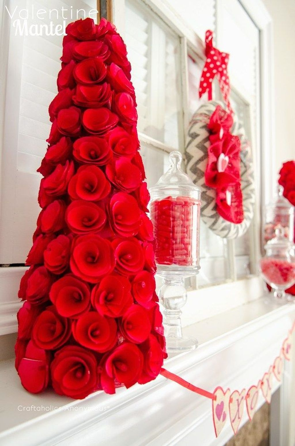 Beautiful And Creative DIY Valentine Decoration Ideas For Your Home 31